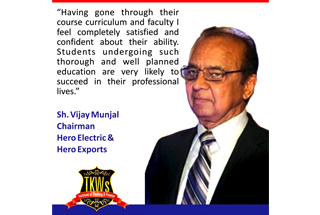 Thanks to Shree Vijay Munjal