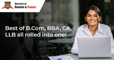 Best of B.Com, BBA, CA, LLB all rolled into one!