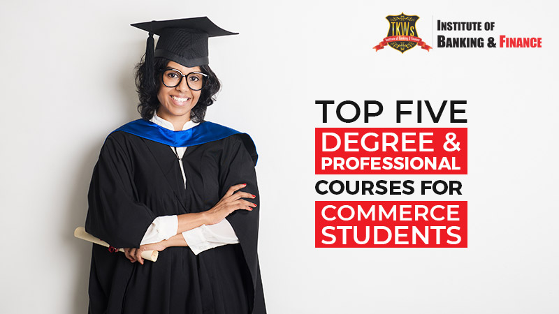 Top five degree & professional courses